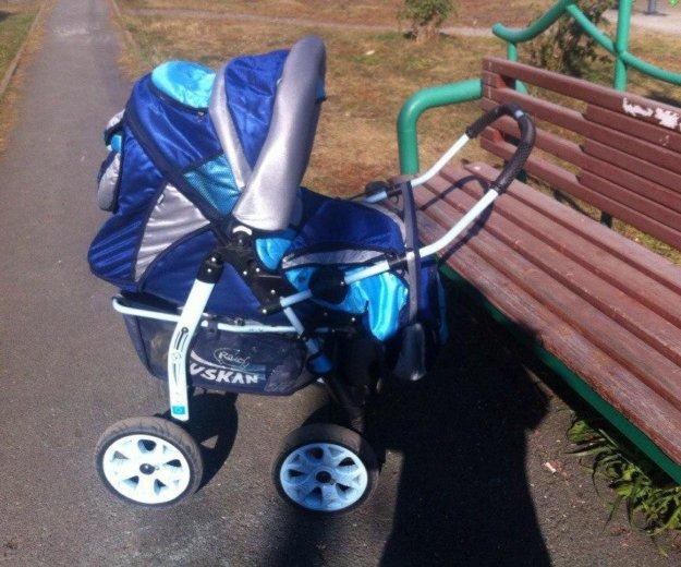 Детская коляска зима-лето. Фото 3. Кемерово.