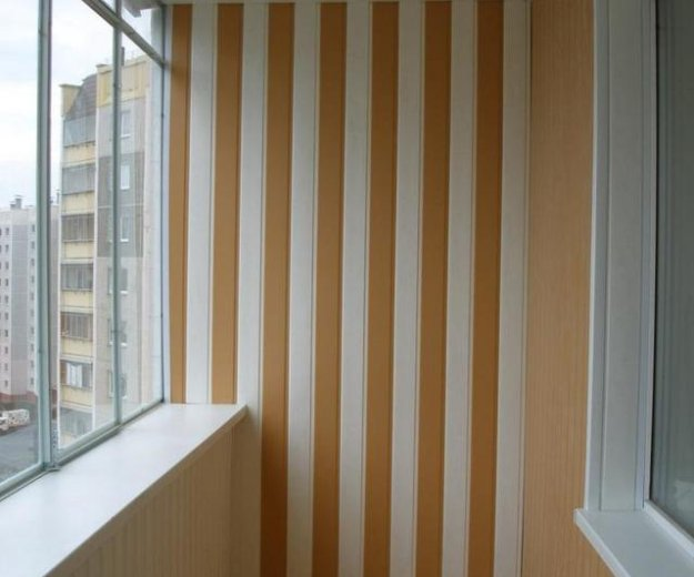 Отделка и ремонт лоджий и балконов. Фото 1. Люберцы.