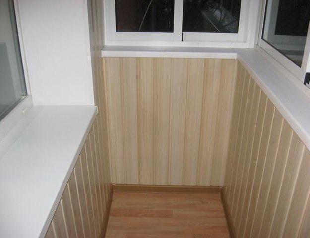 Отделка и ремонт лоджий и балконов. Фото 3. Люберцы.