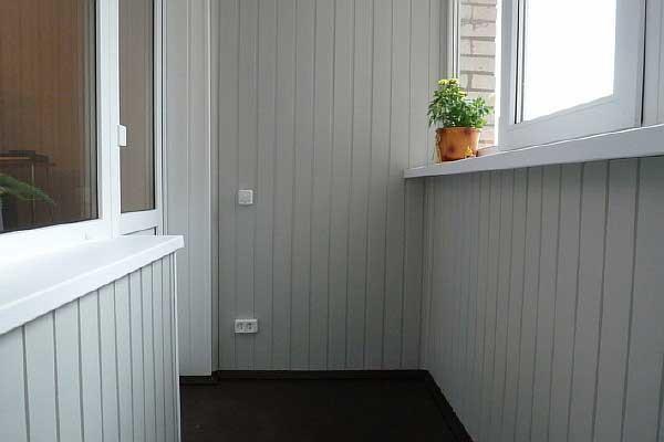 Отделка и ремонт лоджий и балконов. Фото 4. Люберцы.