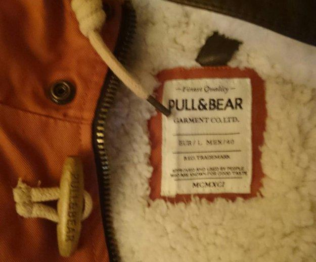 Куртка парка pull and bear муж. Фото 3. Ржавки.