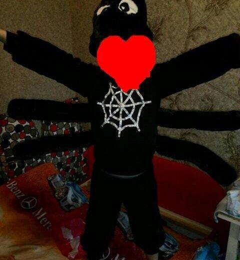 Новогодний костюм паук. Фото 1. Новокузнецк.