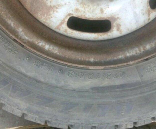 Зимняя резина с дисками. Фото 1. Коломна.