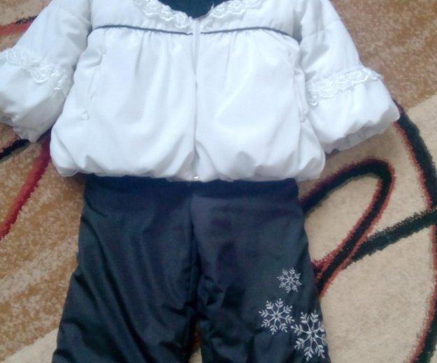 Детский зимний костюм. Фото 1.