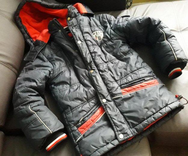 Куртка зимняя для мальчика 8 лет р.134-68. Фото 2. Екатеринбург.