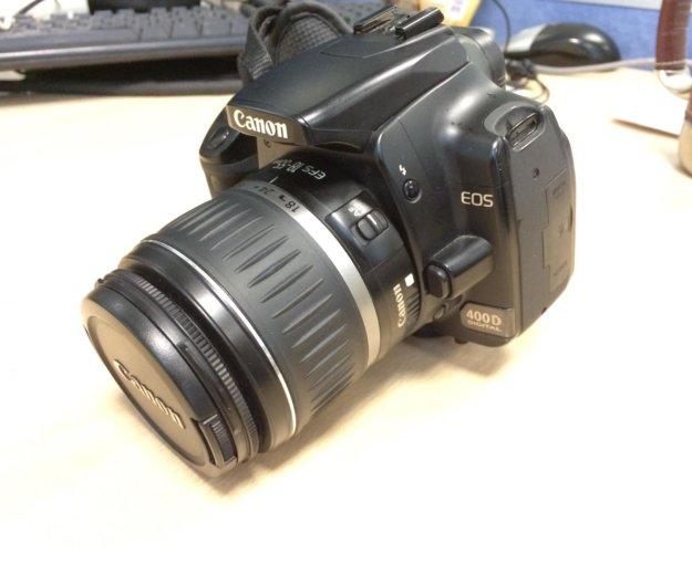 Canon eos 400d. Фото 3. Москва.