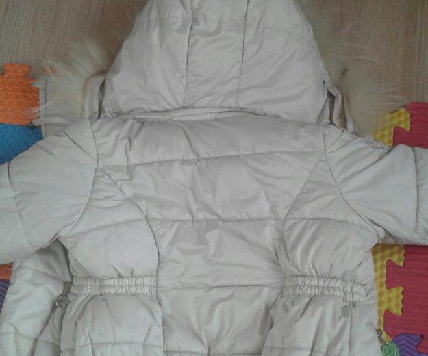 Куртка зимняя на девочку. Фото 1. Красноярск.