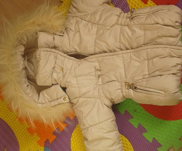 Куртка зимняя на девочку. Фото 2. Красноярск.