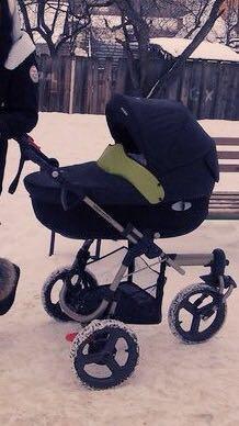 Коляска bebe comfort 2в1. Фото 1.