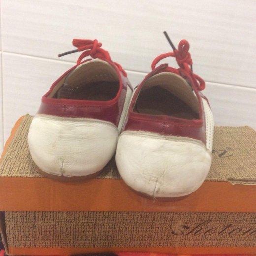 Кожаные туфли р-р 40. Фото 2.