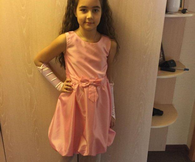 Платье (ободок+перчатки). Фото 1. Московский.