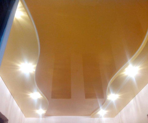 Натяжные потолки. Фото 1.