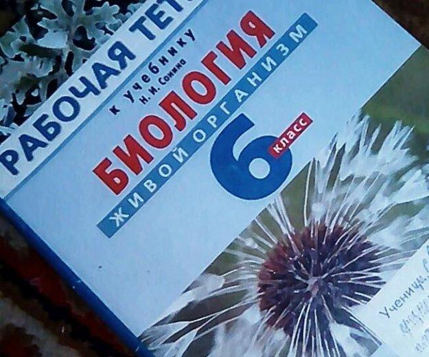 Рабочая тетрадь по биологии 6 класс. Фото 1. Смирных.