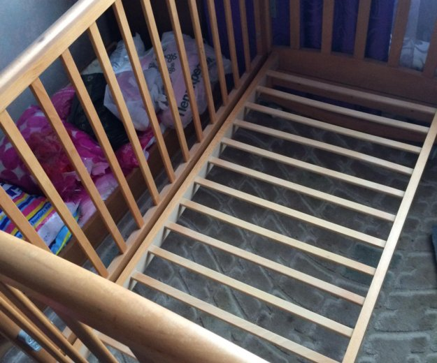 Детская кроватка. Фото 1. Москва.