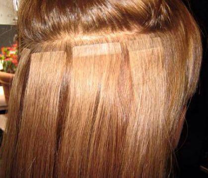 Ленточное наращивание волос. Фото 3. Нижний Новгород.