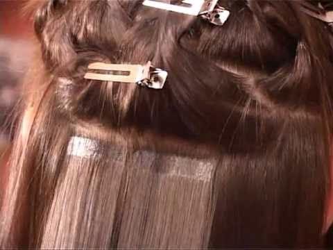 Ленточное наращивание волос. Фото 4. Нижний Новгород.