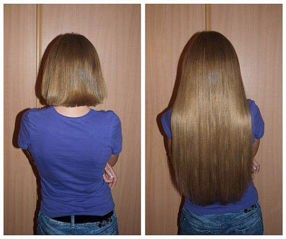 Ленточное наращивание волос. Фото 1. Нижний Новгород.