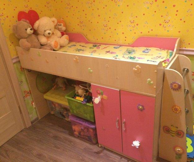 Детская кроватка, для девочки. Фото 1. Москва.