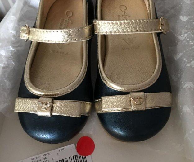 Туфли для девочки armani junior (оригинал). Фото 4.