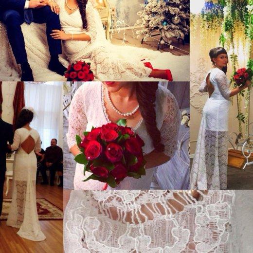 Свадебное платье для беременных. Фото 2. Красноярск.