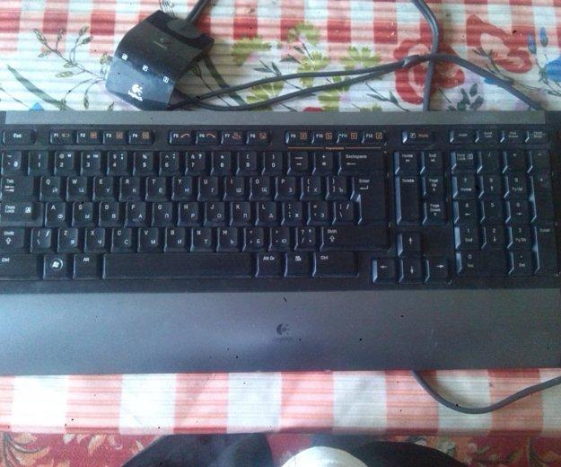 Клавиатура logitech. Фото 1.
