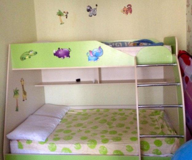 Двухъярусная кровать. Фото 1. Майкоп.