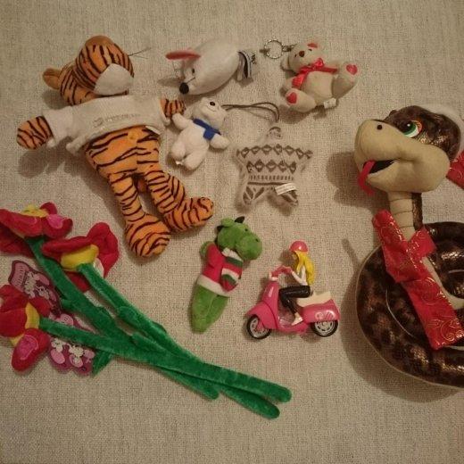 Мягкие игрушки. Фото 1. Химки.