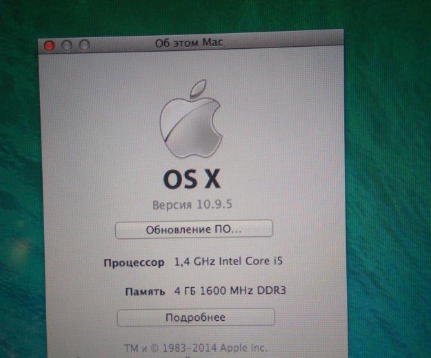 Macbook air a1466. Фото 2. Уфа.