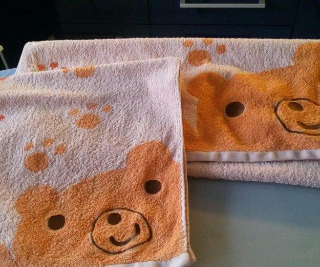 Комплект из 2-х детских полотенец. Фото 1. Москва.
