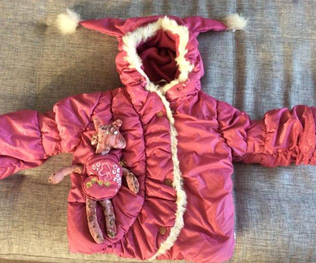 Куртка зимняя orby для девочки. Фото 1. Челябинск.
