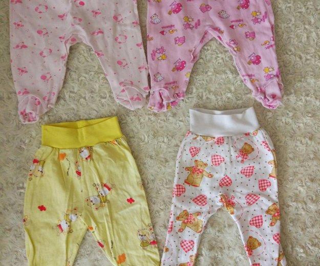 Детские вещи для малышки пакетом от 0-3 мес. Фото 3. Красноярск.