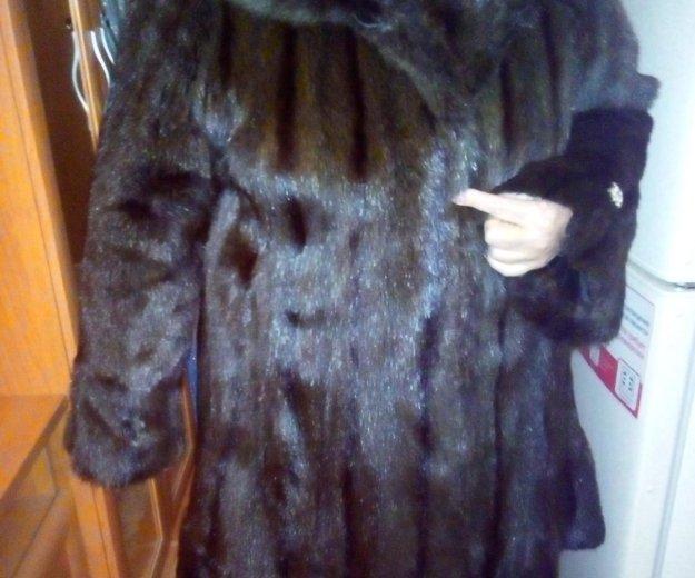 Шуба норковая 53-54 размера. Фото 1. Барнаул.