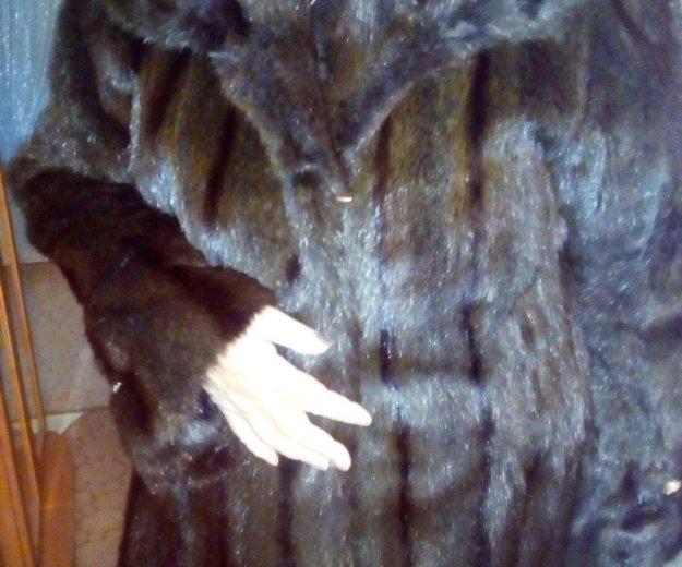 Шуба норковая 53-54 размера. Фото 3. Барнаул.