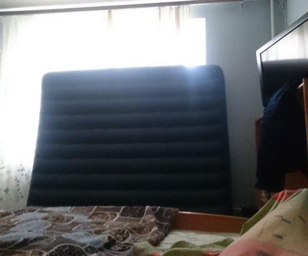 Матрац надувной с насосом. Фото 1. Москва.