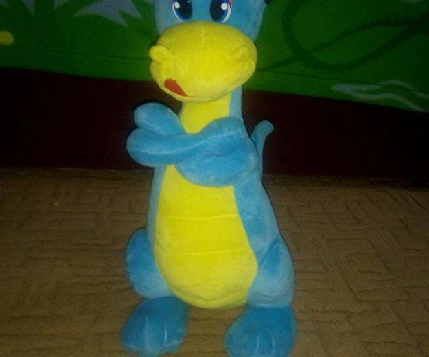 Мягкая игрушка дракоша. Фото 1. Зеленоград.