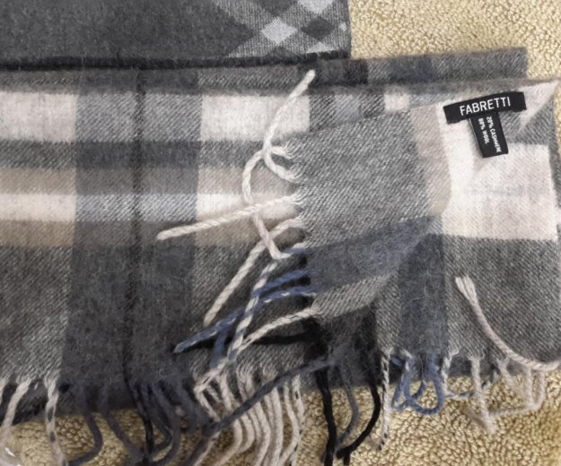 Мужской шарф fabretti плюс подарок. Фото 4.