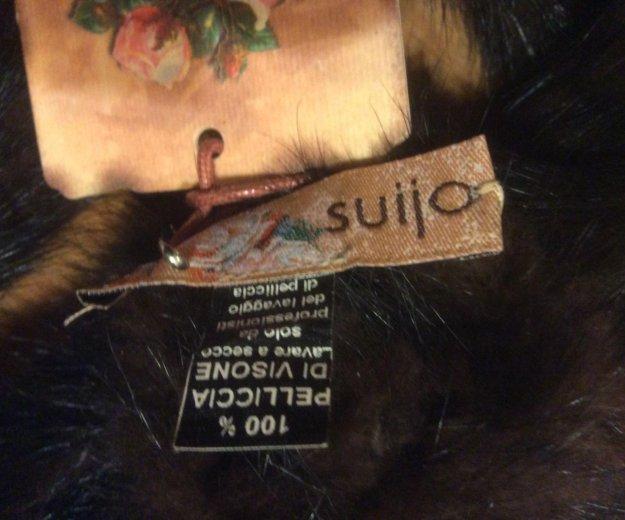 Норковая повязка на голову или на шею. Фото 3. Санкт-Петербург.