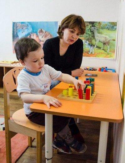 Монтессори занятия для детей 0-3 лет. Фото 2. Москва.