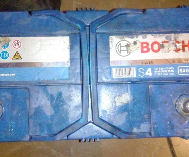Аккумулятор bosch s4. Фото 2.