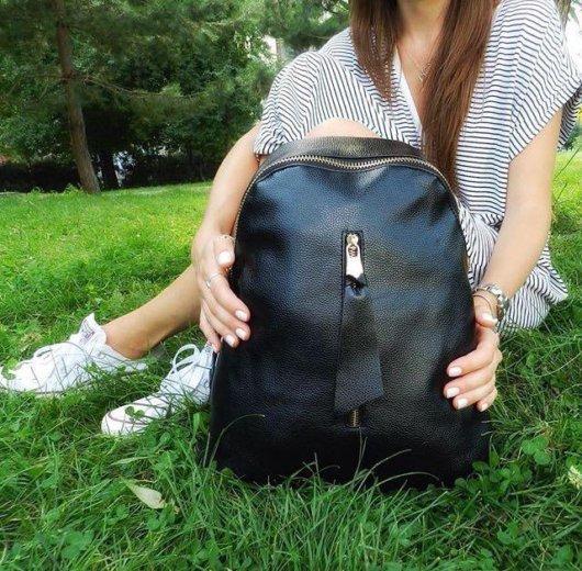 Женский рюкзак из натуральной кожи. Фото 1. Москва.