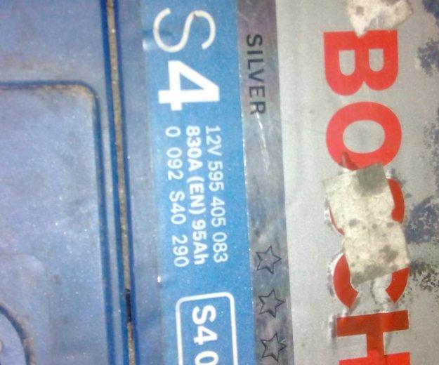 Аккумулятор bosch s4. Фото 3.