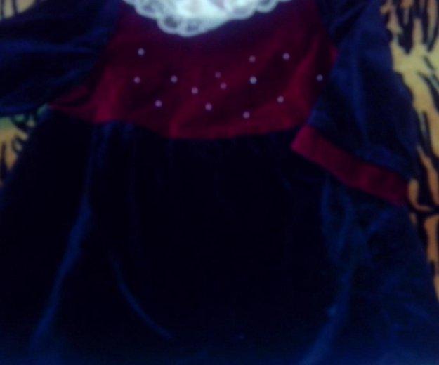Платье бархата бу. Фото 1. Волгодонск.