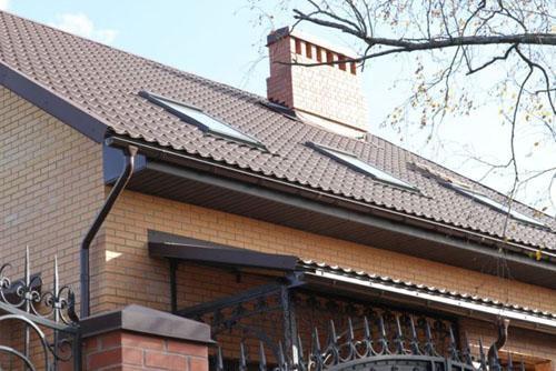Водосточная система для дома и дачи. Фото 1. Казань.