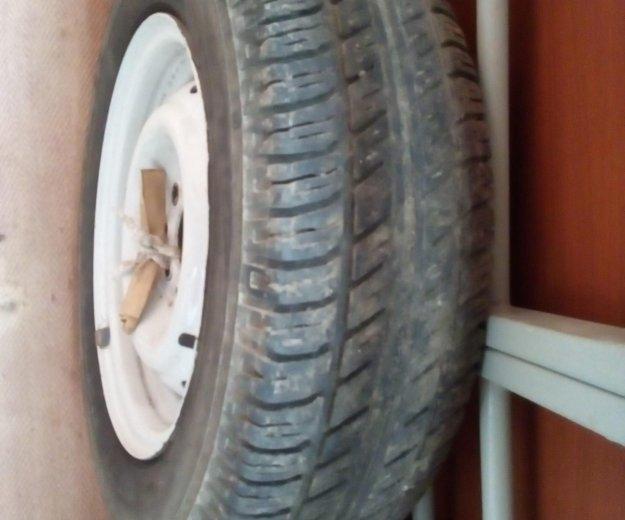 Резина на штампованных дисках r13. Фото 3. Нижний Новгород.