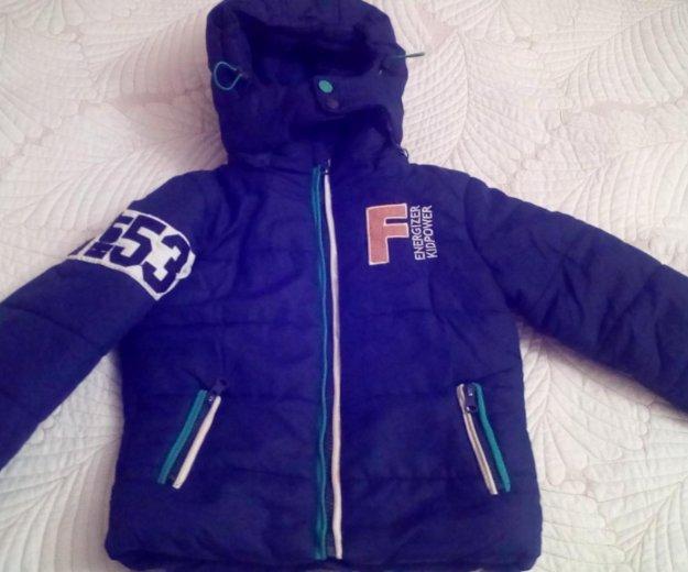 Куртка futurino boys для зимы,размер 104-110. Фото 1. Москва.