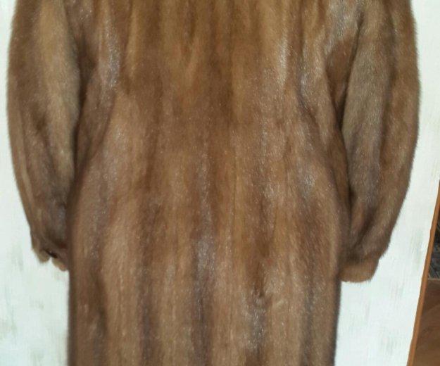 Норковая шуба. Фото 2. Гусев.