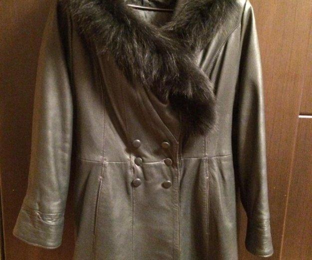 Курта, пальто, кожаное пальто. Фото 4. Челябинск.