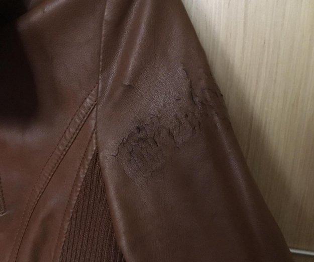 Кожаная куртка fishbone. Фото 4. Челябинск.