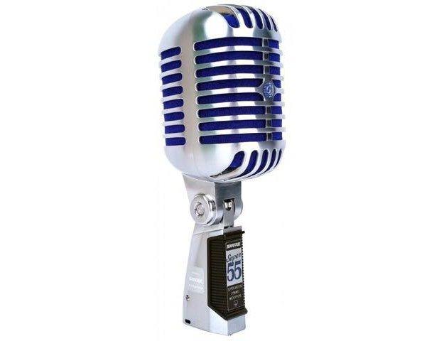 Вокальный микрофон shure super 55 deluxe. Фото 1. Москва.
