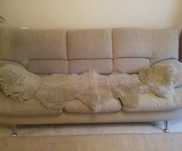 Продам диван и 2 кресла. Фото 2. Тюмень.